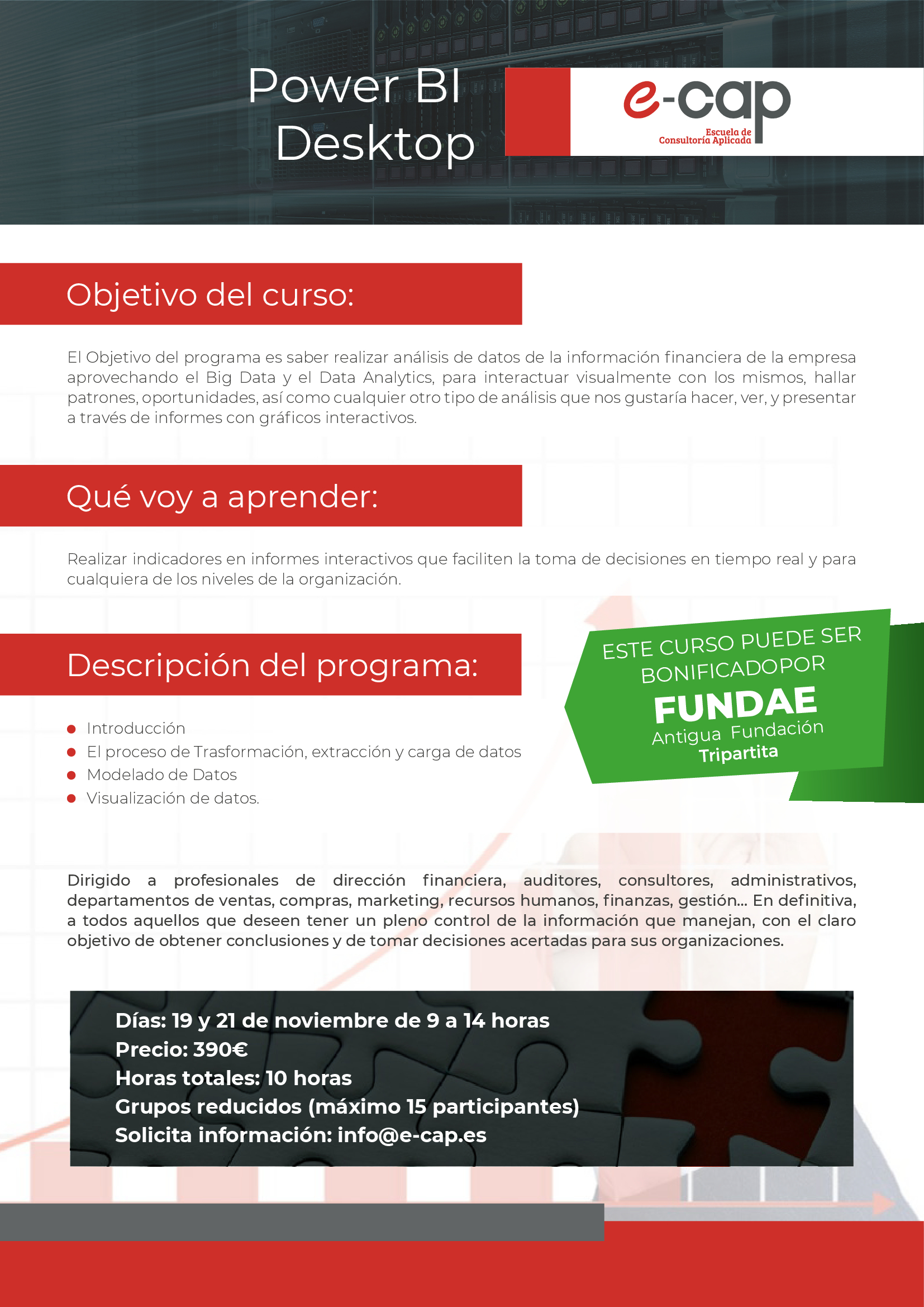 eCap curso Power Desktop